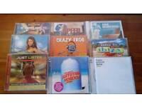 9 various cds
