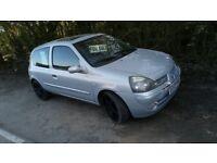 04 Renault Clio w/62k & 7 Months MOT