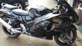 Black beauty. Hayabusa.
