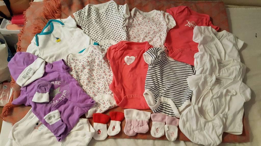 28f796425 0-3 months old Onesies(bundle)