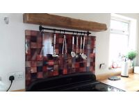 Art of Eco Cooker Splashback