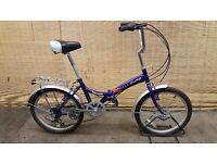 Unisex folding bike CHALLENGE TORNADO Frame 12''