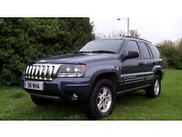 JEEP GRAND CHEROKEE CRD SPORT AUTO 54 reg on Private Plate D8 NHA