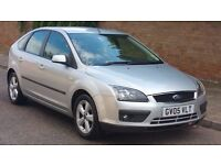 FORD FOCUS ZETEC CLIMATE 1.6 PETROL 2005 05REG 76K MILES FSH NEW MOT NEW SERVICE CAMBELT CHANGED