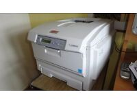 Colour Laser Printer - OKI5600 Printer in good condition. Excellent for a small or home office.