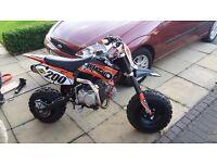 Demon x phat boi 140cc pit bike