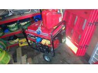 Clarke generator,petrol run,key start