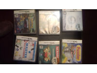 Collection of games for DS console