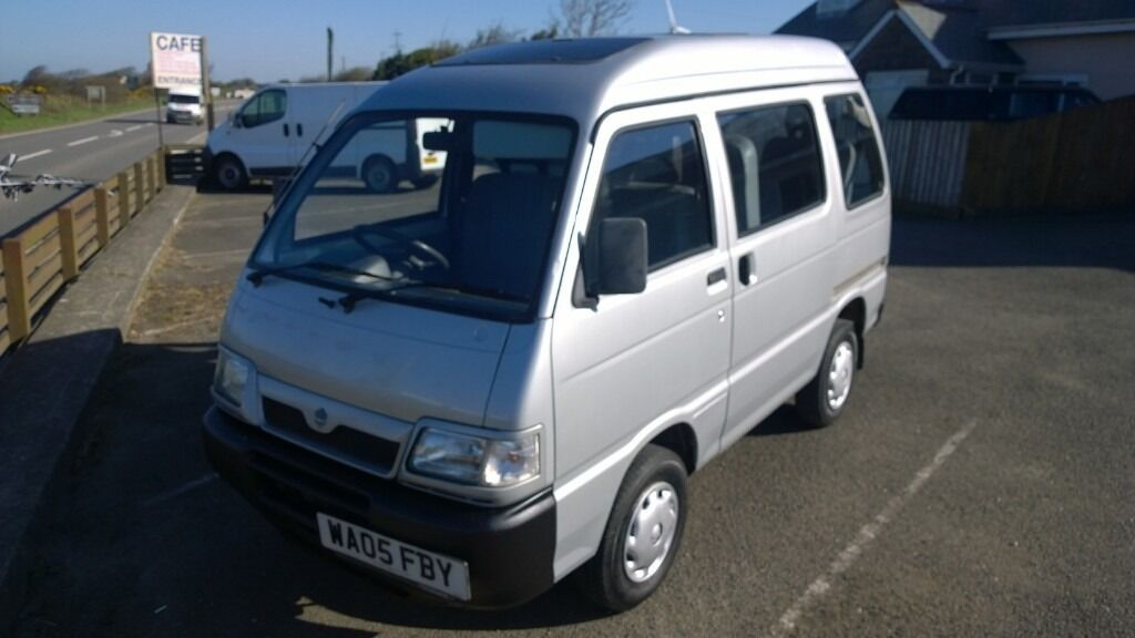 piaggio porter van/mpv 2005 registration, 1.3 petrol, covered only