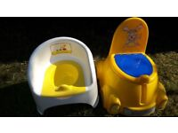 Yellow potty 2 x