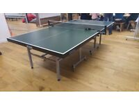 Professional Table Tennis Table - Joola World Cup
