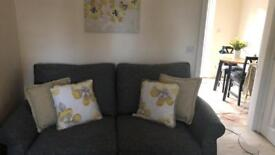 Next Ashford Sofa - boucle weave in grey