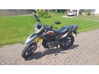 Keeway TXM125 125cc Black Supermoto