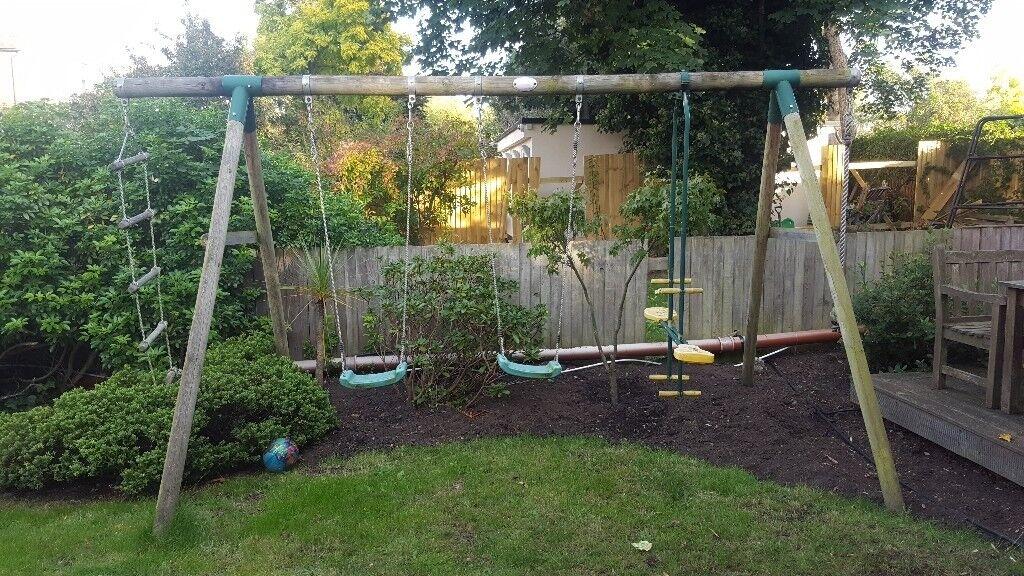 Plum Climbing and Swing Garden Set