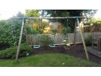 Plum Climbing and Swing Garden Set