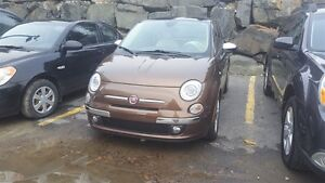 2012 Fiat 500 LOUNGE * INTERIEUR 2 TONS CAPPUCINO !