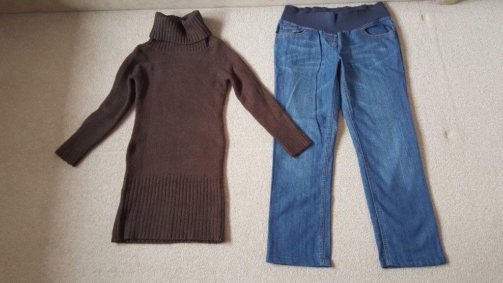 Maternity clothes, size 10-12UK