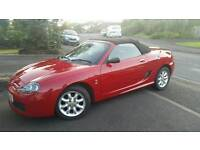 2005 red MG TF mgtf convertible, long mot to nov, perfect for summer