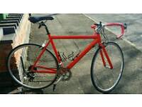 Carrera racing bicycle