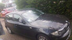 Black BMW 1 series for sale! Quick sale! Excellent condition