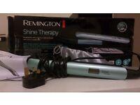 Remington- Shine Therapy straightener- new