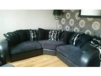 Corner sofa + cuddle chair