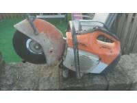 Stihl saw ts410 petrol cutting saw not ts400