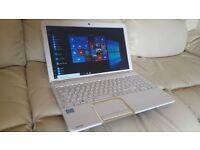 White Toshiba i5 Laptop With Box