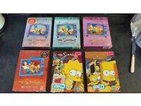 Simpsons collectors dvds