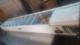 Genfrost pizza prep fridge/ 10 pots
