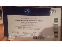 Impractical jokers live at the O2 arena London Sunday 8th January