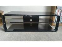 Alphason Lithium Black TV stand