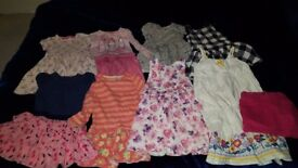 Girls dress bundle 2-3years
