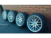 Bmw e90 msport 18 inch alloys all brand new tyres