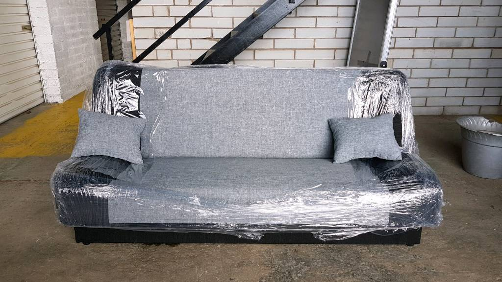 Brand new sofa bed with storage