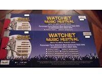 2 Watchet Festival Weekend Tickets