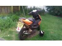 Yamaha areox moped