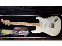 Fender American standard stratocaster. Mint condition.