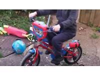 "12"" Paw Patrol Bike (3-5 Yrs Old) includes Paw Patrol Helmet"