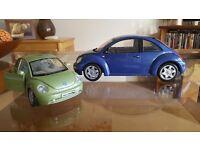 2 x VW Die cast cars