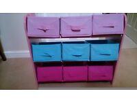 Child's storage unit