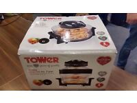 Tower T14001 Halogen Healthy Oil Free Air Fryer, 1300 W, 17 L - Black - Collection Only.