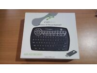 Cideko Wireless 3DMouse Keyboard. Air Keyboard