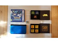 FOR SALE: £130 NINTENDO 3DS XL WITH POKEMON ALPHA SAPPHIRE & ANIMAL CROSSING NEW LEAF