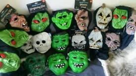 Joblot Halloween Dec's and masks