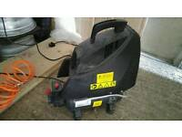 Selling compressor, karcher wash machine and tent