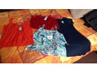 3 womens tops with tags and 1 dress all size 14 £10 ono