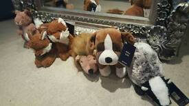 John Lewis Buster the Dog entire collection (6 soft toys)