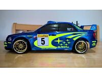 1:10 TB02 Subaru rc car