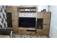 Television table set brand new